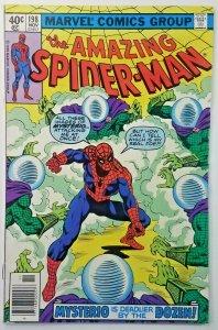 Amazing Spider-Man #198  MYSTERIO APPEARANCE  Bronze Age Marvel Comics 1979