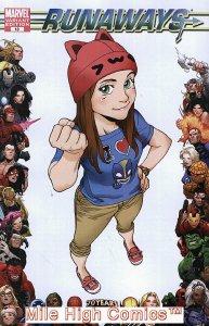 RUNAWAYS (2008 Series)  (MARVEL) #13 70TH ANN Fine Comics Book