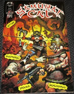 Samurai Cat #1 (1991)