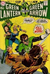 Green Lantern #78 (ungraded) stock photo