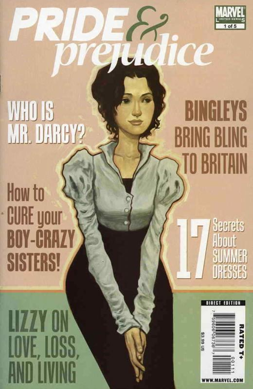 Pride & Prejudice #1 VF/NM; Marvel | save on shipping - details inside