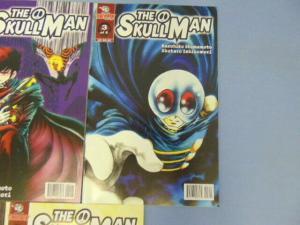 The Skullman Skull Man TokyoPop Manga Comic Books #1 to #5 Kazuhiko Shimamoto