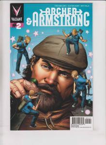 Archer & Armstrong vol. 2 #2 VF patrick zircher variant 1:25 valiant comics rare