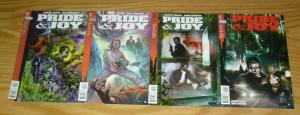 Pride & Joy #1-4 VF/NM complete series - garth ennis vertigo comics set lot 2 3