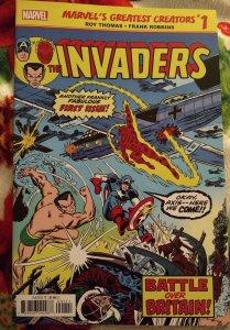 Marvel's greatest creators: Invaders #1 NM