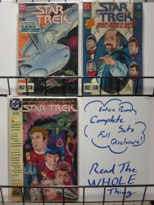 STAR TREK 22-24 'The Return Of HARRY MUDD' complete set