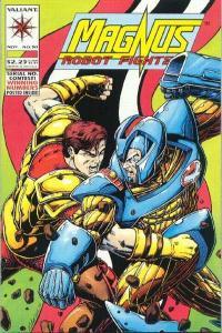 Magnus Robot Fighter (1991 series) #30, VF+ (Stock photo)
