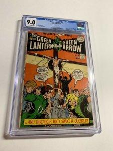Green Lantern #89 CGC graded 9.0