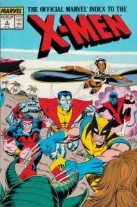 Official Marvel Index to the X-Men (1987 series) #4, NM- (Stock photo)