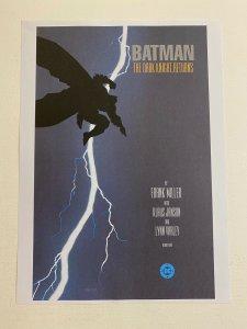 Batman Dark Knight Returns #1 DC Comics poster by Frank Miller