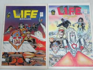 LIFE BRIGADE (1986 BC) 1-2 THE SET!