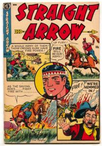 Straight Arrow #31 1953- ME Golden Age Western VG-