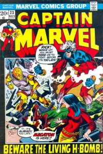 Captain Marvel #23 (ungraded) stock photo / SMC