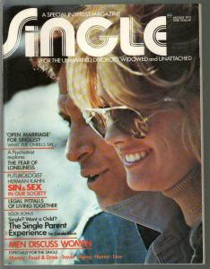 Single #1 8/1973-For The Unmarried, Divorced, Widowed and Unattached-1st issue-V