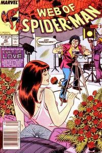 Web of Spider-Man (1985 series) #42, VF+ (Stock photo)