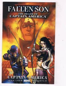 Fallen Son The Death Of Captain America Captain America #3 VF Marvel Comics DE48