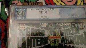 Green Lantern #79 (DC, 1970) PGX VF 8.0