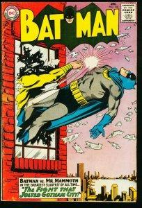 BATMAN #168-1964-DC-GOTHAM CITY VG