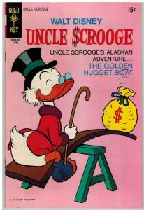 UNCLE SCROOGE 86 VF April 1970