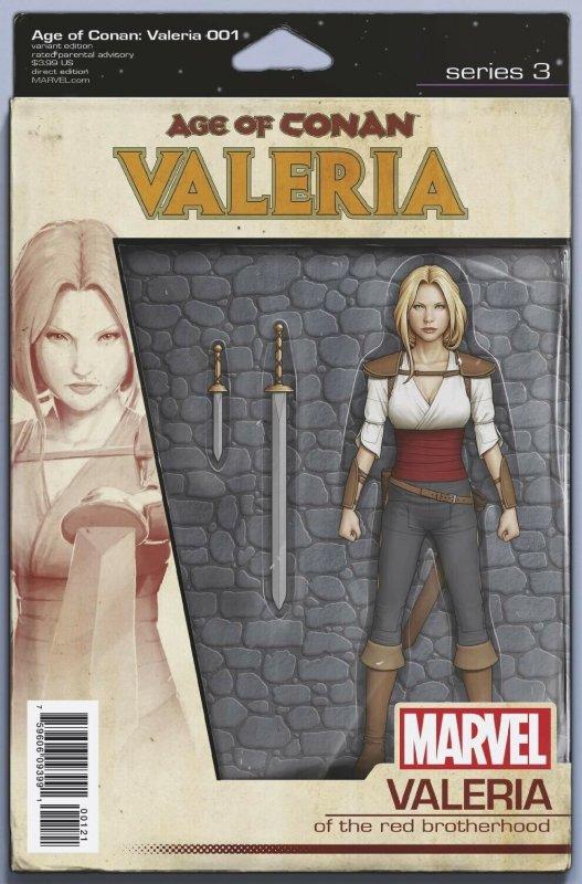 Age Of Conan Valeria #1 Action Figure Variant Comic Book (2019) NM