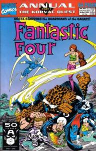 Fantastic Four (1961 series) Annual #24, VF+ (Stock photo)