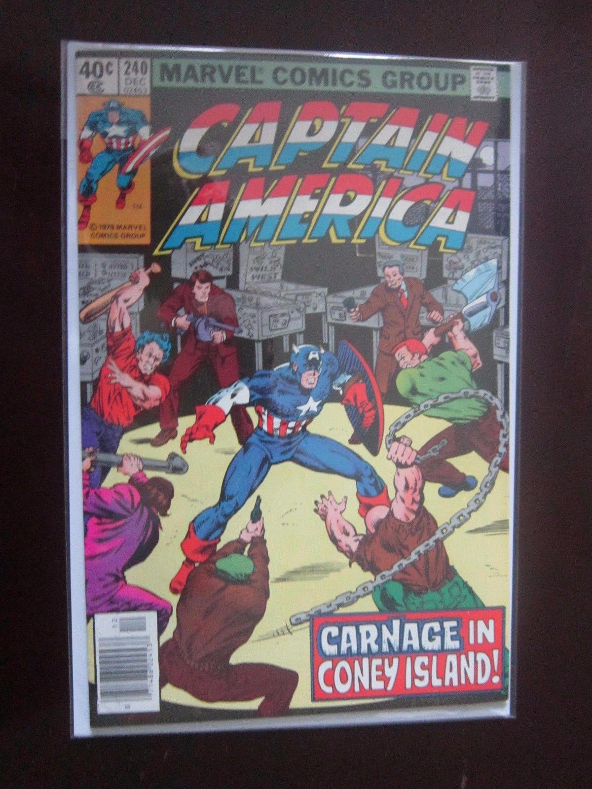 #239 1979 FN Stock Image Captain America 1st Series