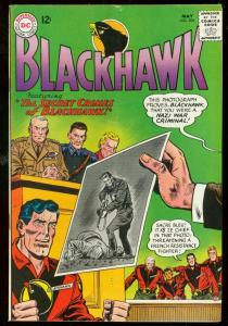 BLACKHAWK #208 1965-DC COMICS-NAZI WAR CRIMINAL ISSUE VG/FN