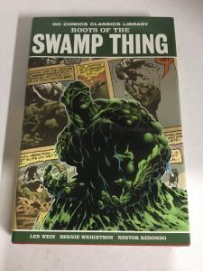 Roots Of The Swamp Thing DC Comics Classics Library Nm Near Mint HC TPB