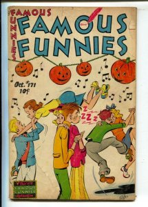 Famous Funnies #171 1948-Halloween cover-Buck Rogers-Dickie Dare-Scorchy Smith-G