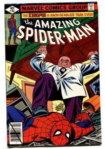 AMAZING SPIDER-MAN #197-comic book 1979-KINGPIN-MARVEL