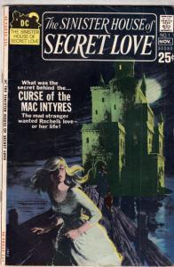 Sinister House of Secret Love #1 (Nov-71) FN/VF+ High-Grade