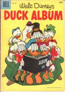 DUCK ALBUM F.C. 782 VG+ 1957 COMICS BOOK