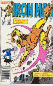 Iron Man #187 (Oct-85) VF High-Grade Iron Man