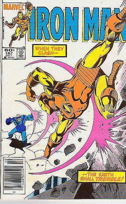 Iron Man #187 (Oct-85) VF High-Grade Iron Man