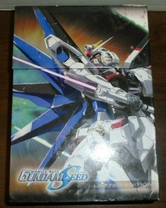 Mobile Suit Gundam Seed DVDs Movies 1 , 2 , & 3 W/ Limited Edition Art Box