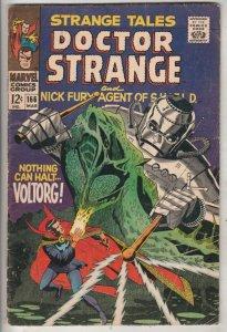 Strange Tales #166 (Mar-68) VG+ Affordable-Grade Nick Fury, Dr. Strange