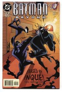 BATMAN BEYOND #2 Inque DC comic book 1999