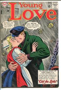 YOUNG LOVE #47-DC ROMANCE-NURSE SAILOR COVER-COOL FN