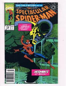 Spectcular Spider-Man #178 Marvel Comic Book Kraven Vermin Child Within HH1