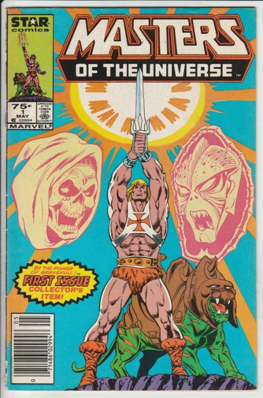 Masters Of The Universe #1 (May-86) FN/VF Mid-High-Grade He-Man