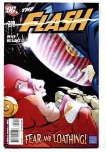 Flash #238-2008-First appearance of SPIN   Comic Book