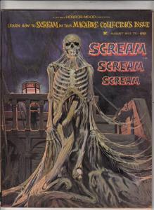 Scream Magazine #1 (Aug-73) VF/NM- High-Grade