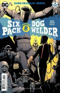 Sixpack and Dogwelder: Hard-Traveling Heroez #4 VF; DC | save on shipping - deta