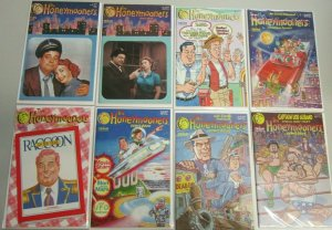 The Honeymooners comic book from:#1-9 w/ one variant 11 different 9.4 NM (1987)