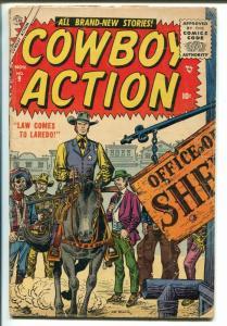 Cowboy Action #9 1955-Atlas-Joe Maneely-Dick Ayers-G