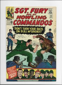 Sgt. Fury and His Howling Commandos #22 VF 8.0 High Grade Silver Age!!