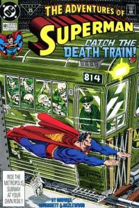 Adventures of Superman (1987 series) #481, NM- (Stock photo)