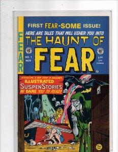 EC Comics The Haunt of Fear #1  Harvey Kurtzman Wallace Wood