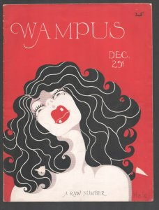 Wampus 12/1926-college humor magazine-art by Bob Crosby-Marvin Cornell-VG