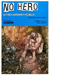 2 Avatar Comic Books Rover Red Charlie # 1 No Hero # 5 Garth Ennis DiPascale WM7